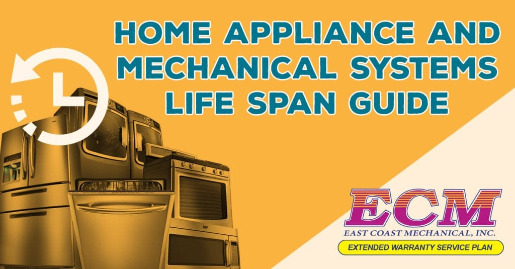 home appliance life span guide