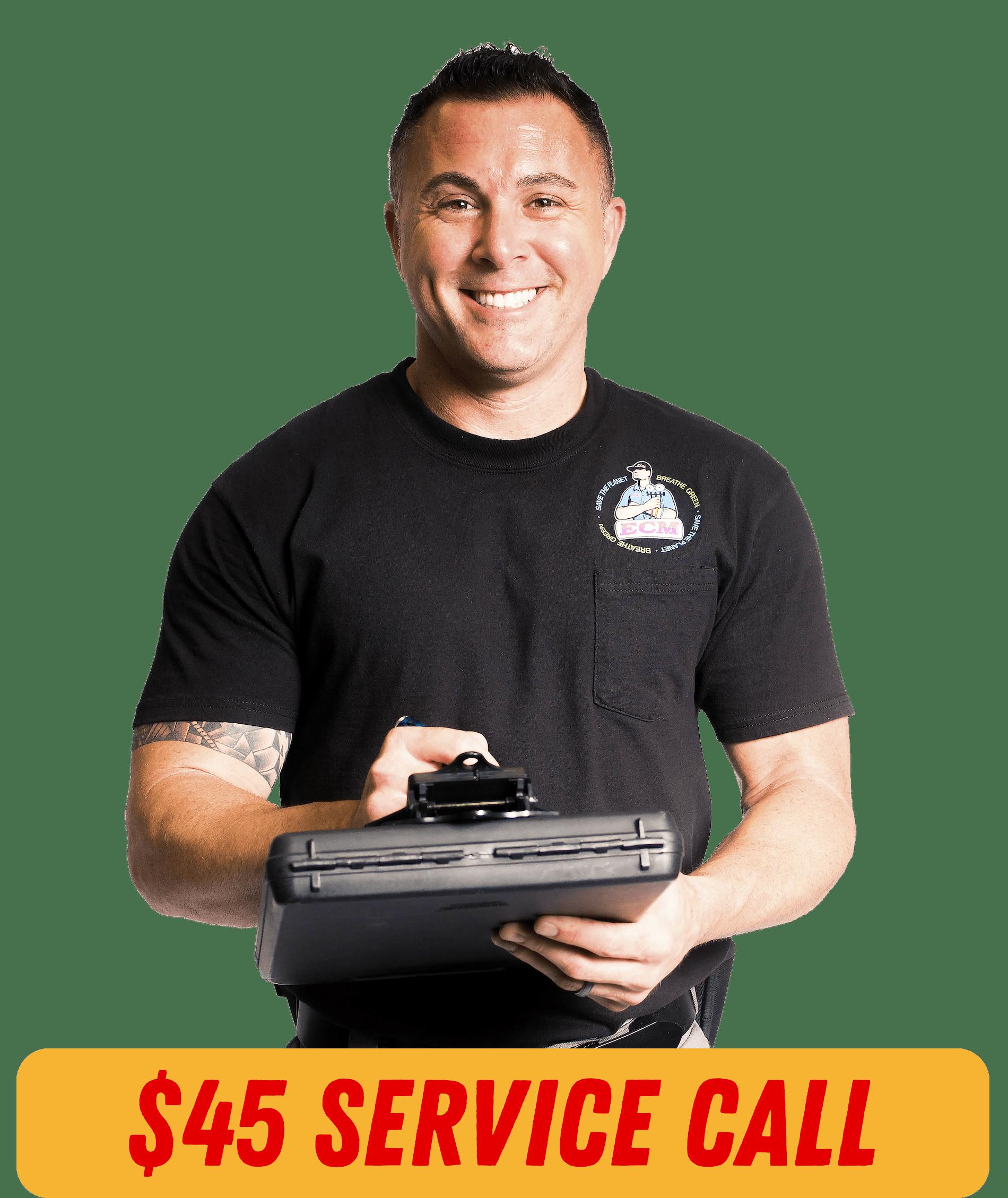 ECM Appliance Service & Repair - Form + Number