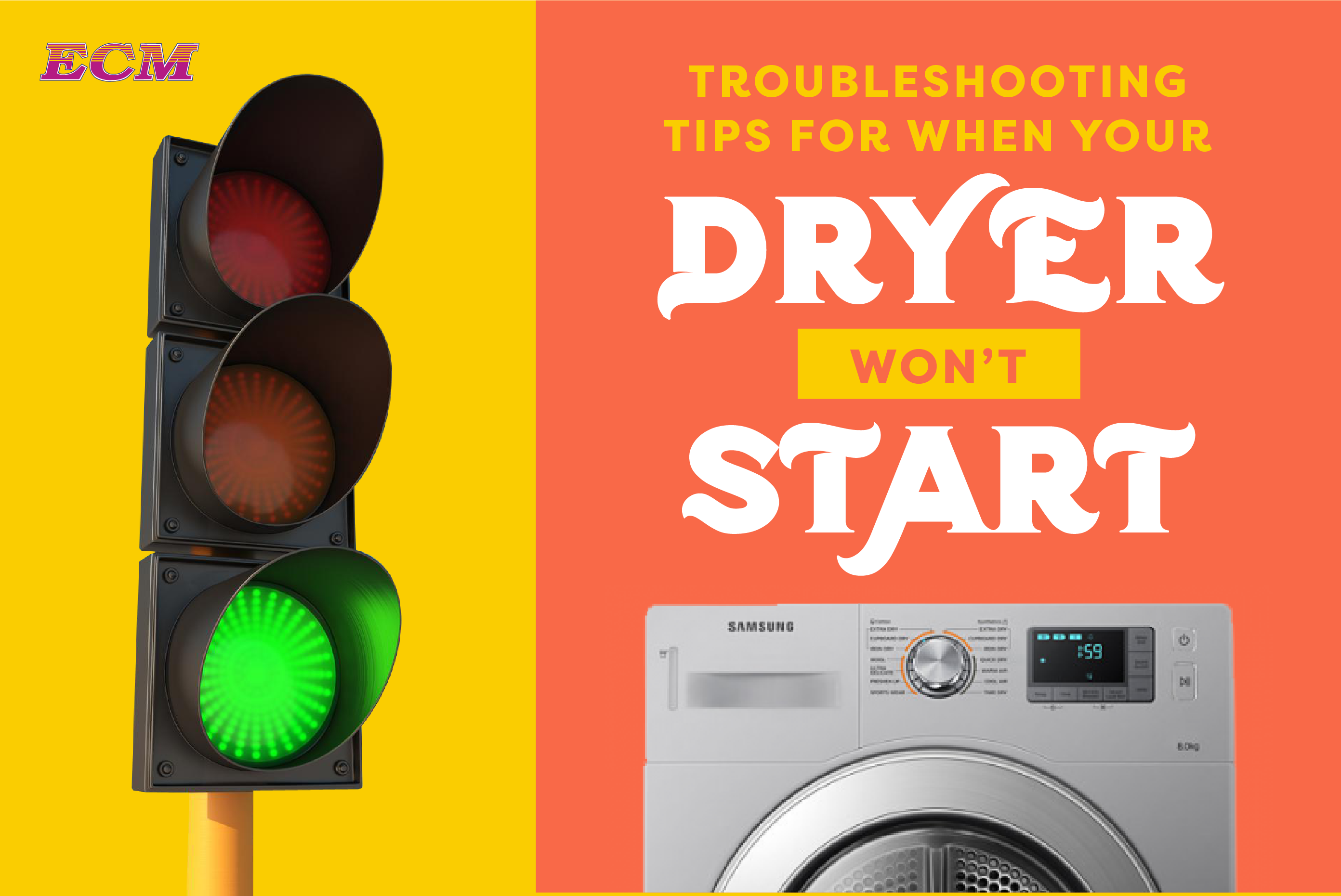 Troubleshooting Tips When Your Dryer Won't Start