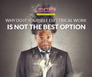 diy electrical work can lead to major issues