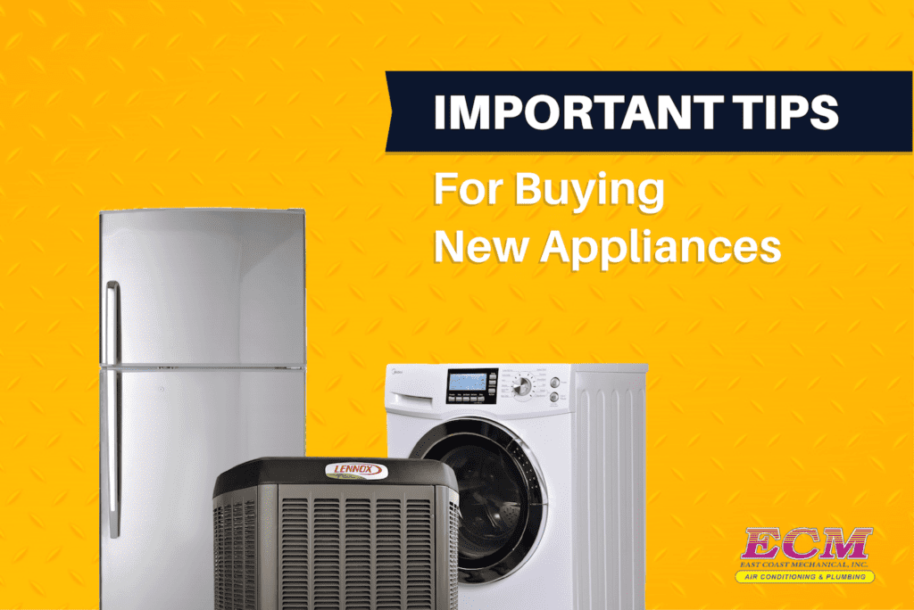 buying new HVAC appliances