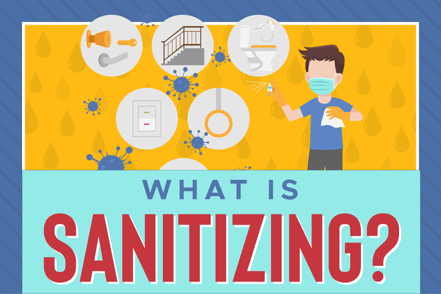 What is sanitizing