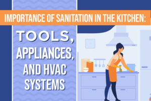 sanitation in the kitchen