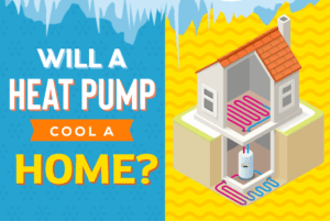 Will a heat pump cool a home