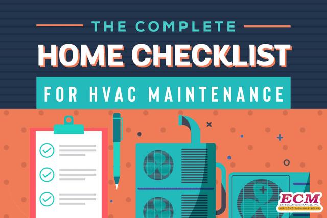 checklist for hvac maintenance