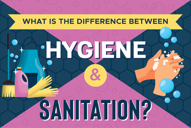 difference between hygiene and sanitation