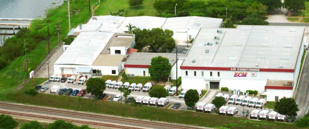 ECM Aerial Air Conditioning Headquarters