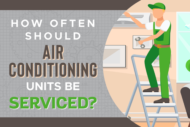 how often should air conditioning units be serviced