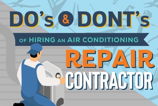 repairs air conditioning